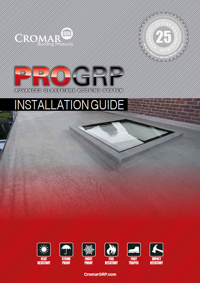 PRO GRP Roofing System - CROMAR BUILDING PRODUCTS
